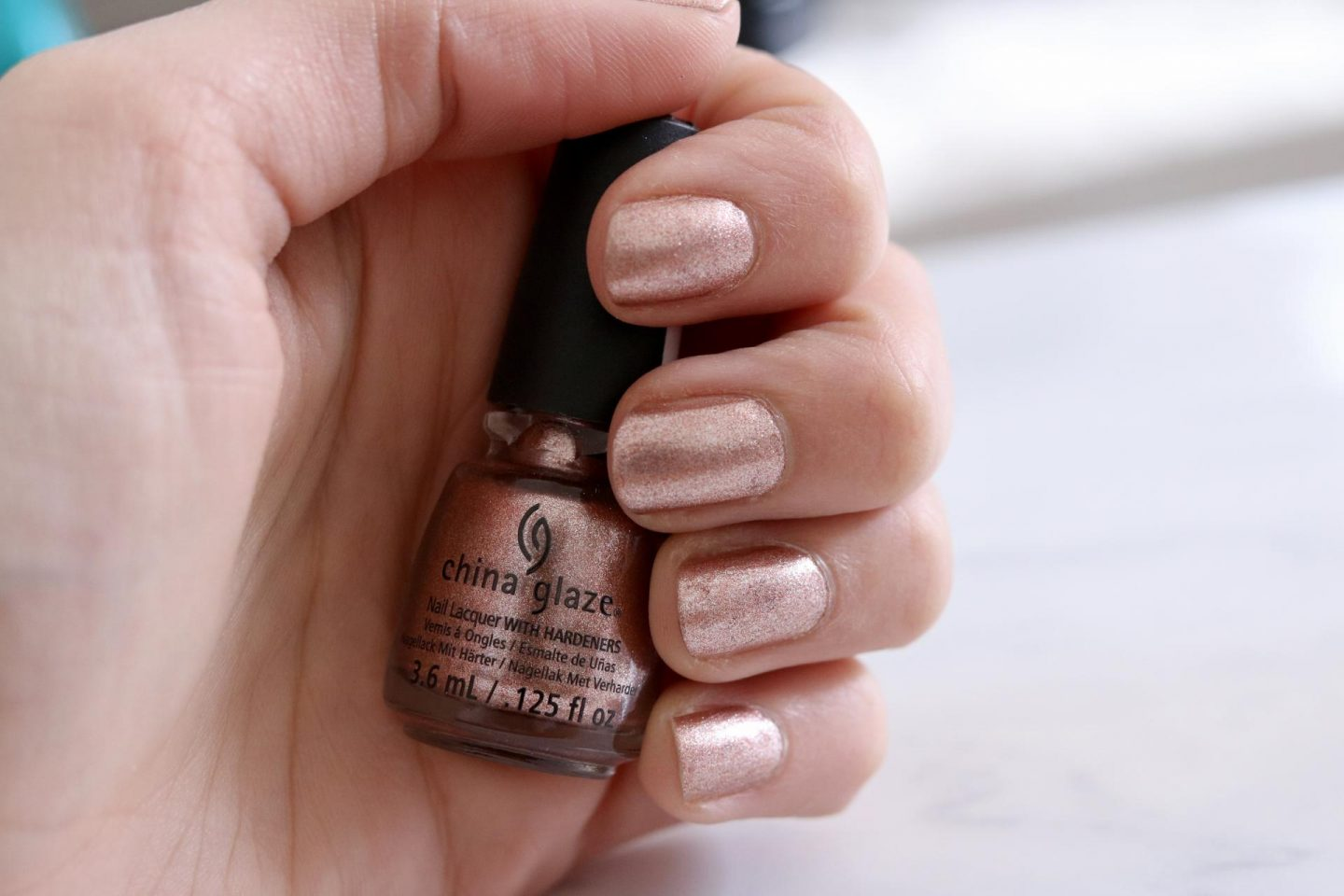 The Rose Gold Nail Polish I Don\'t Want to Take Off - Katie Actually