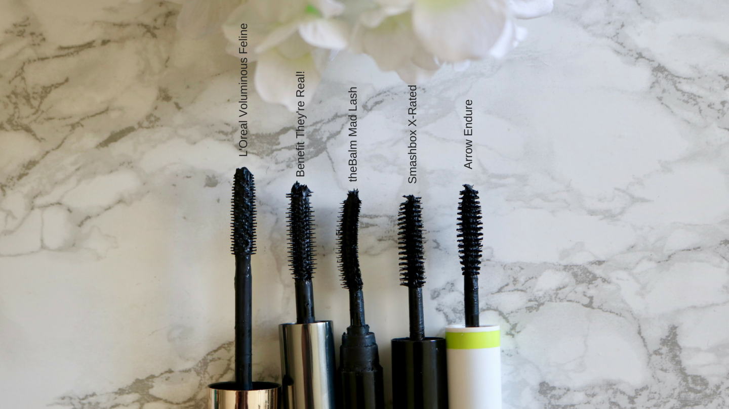 My current mascara rotation katie actually for Mascara wands