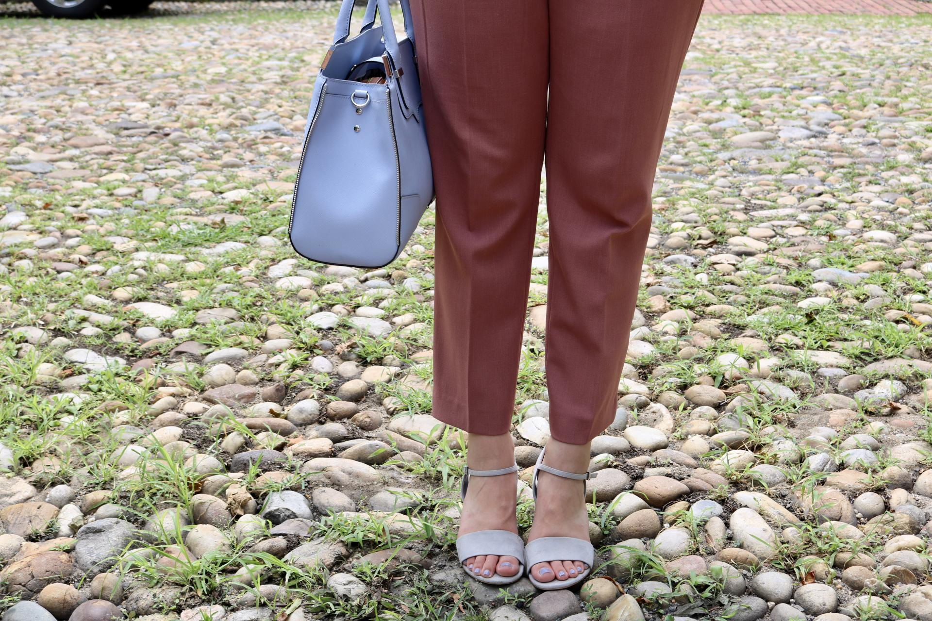 A Summer Work Outfit to Beat the Heat | Katie Actually