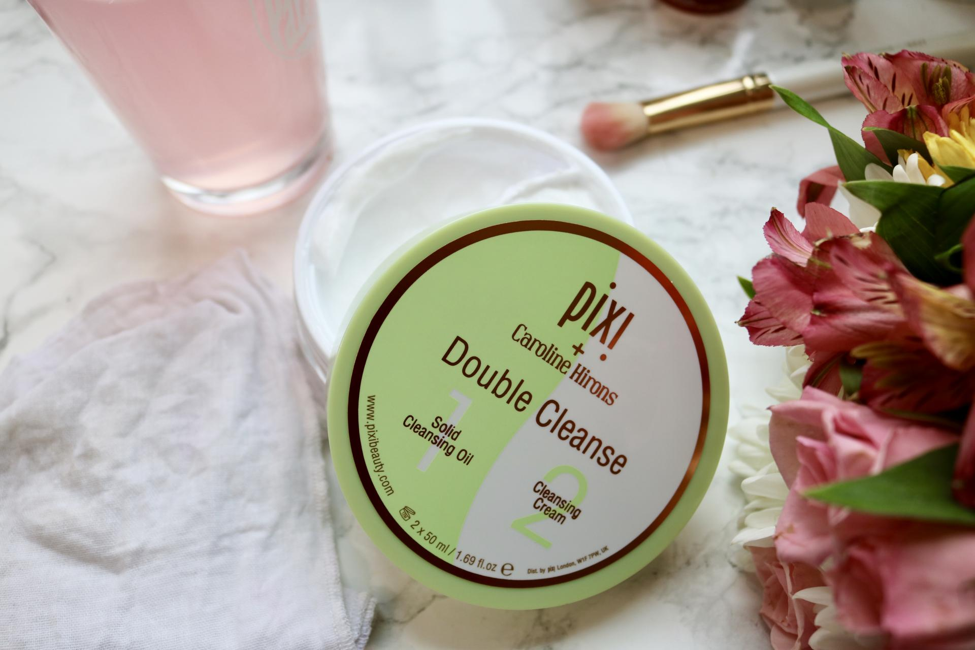 Pixi x Caroline Hirons Double Cleanse Review | Katie Actually